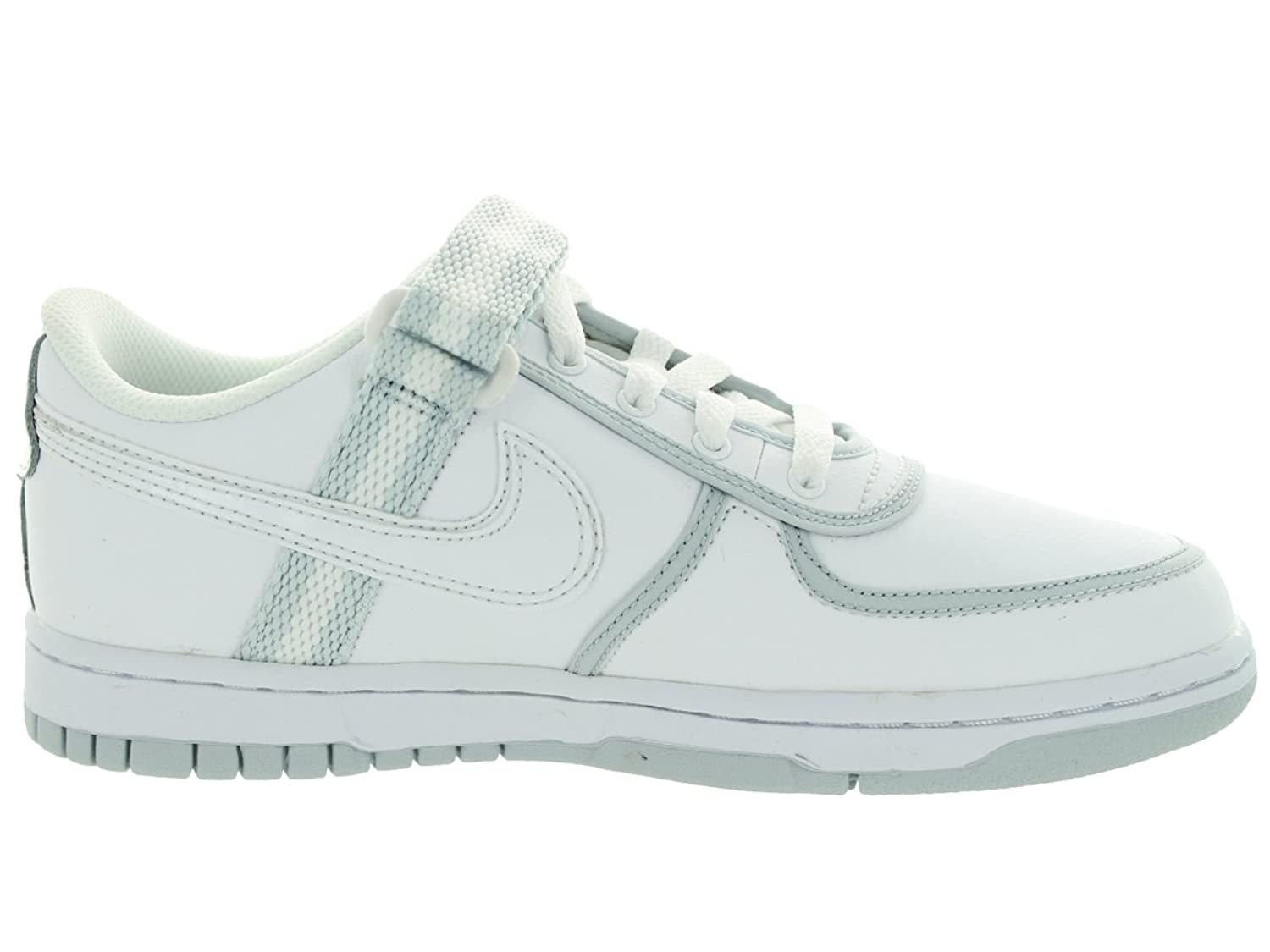 Amazon.com | Nike Kids Vandal Low (GS) White/White/Pure Platinum Casual  Shoe 6.5 Kids US | Walking