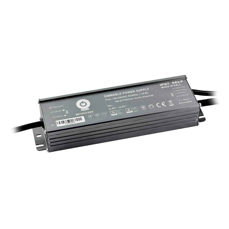P os MCHQ LED Konverter 150W 6.3A 24V DC dimmbar Treiber Trafo Transformator Spannungswandler