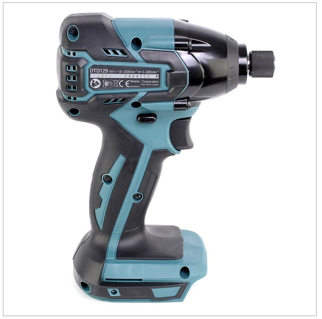 makita dtd129z 18v lxt brushless impact driver body only. Black Bedroom Furniture Sets. Home Design Ideas