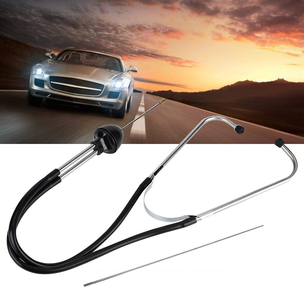 Acouto Car Engine Cylinder Stethoscope, Automotive Mechanics Engine Repair Tester Diagnostic Tool Car Engine Diagnostic Stethoscope Tool with 215mm Extended Probe by Acouto (Image #7)