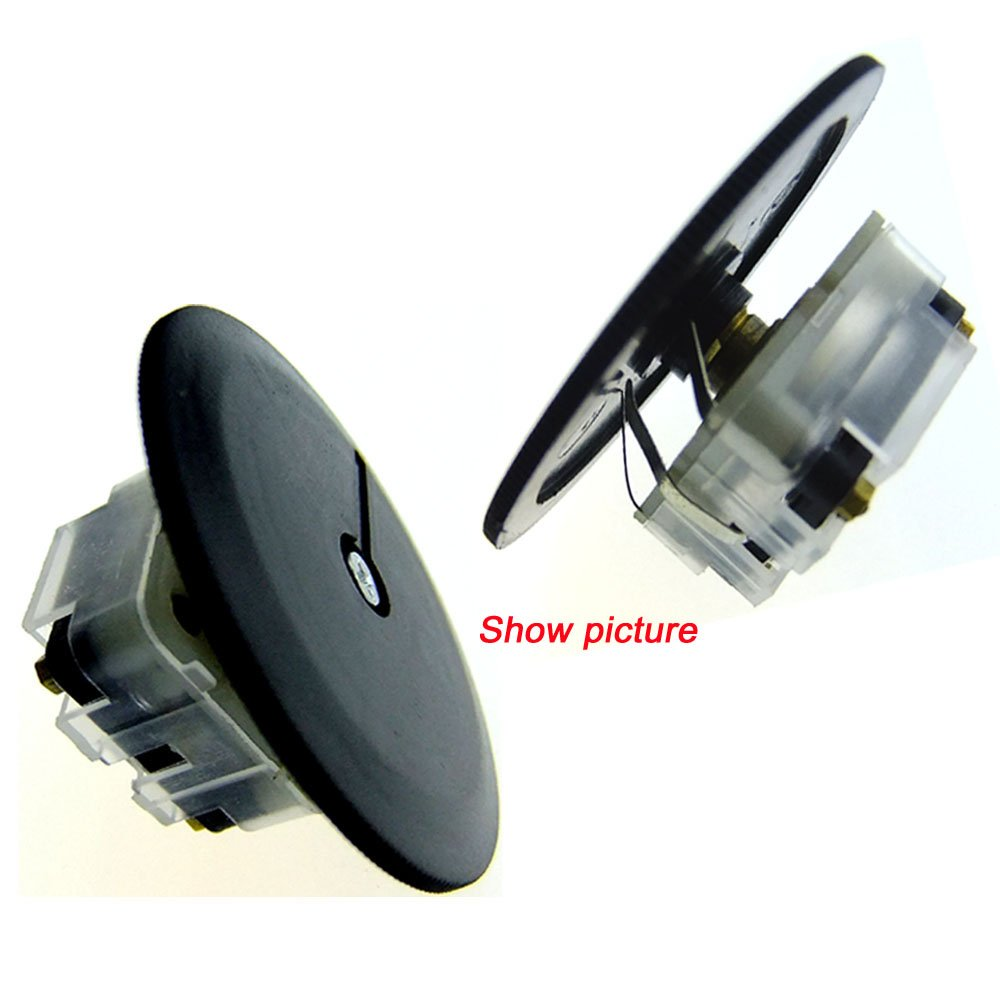 Duplex 223p 60pf//140pf 2.1mm Hole Shaft Radio Variable Capacitor Knob Screw Knob 5pcs + Screw 5pcs