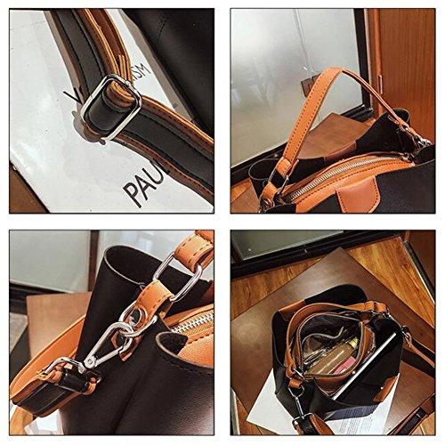 Shopping Bag Leather Black Bags Shoulder Handbag Bag Women's Women's Women Clutches Bag Fashion Bags Handbag Shoulder Bag Tote Bag Women Bag Handbags Shoulder 7BdCTwq