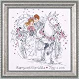 Design Works - Wedding Carriage 2715 - Counted Cross Stitch Kit - 12 by 12 Inches - with Gift Card