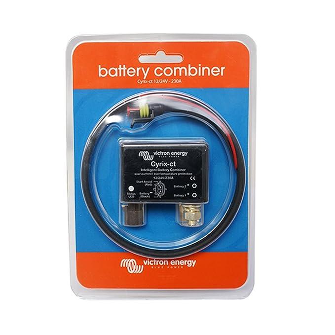 Combinador inteligente de baterías Cyrix-ct 12/24 V 230 A: Amazon.es: Bricolaje y herramientas