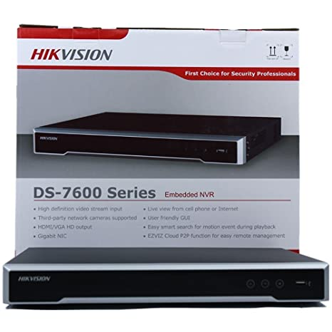 Amazon com : Hikvision NVR DS-7608NI-I2/8P 8 Channel POE Embedded