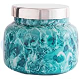 Capri Blue Signature Volcano Candle in Watercolor Glass Jar, 19 Ounce