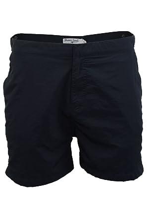cb207af4e7 Brave Soul Mens Smart Swim-Shorts Las Vegas' (Navy) L: Amazon.co.uk ...