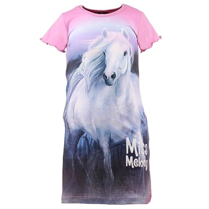 Miss Melody M/ädchen Nachthemd violett