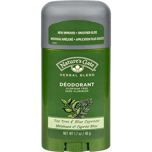 Amazon.com : Nature\'s Gate Deodorant, Tea Tree & Blue Cypress, 1.7 ...