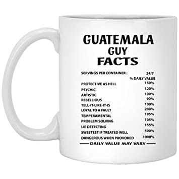 Amazon.com: Guatemala chavo datos café taza – Cool taza de ...