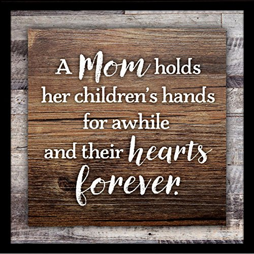 Dexsa Plaque-Simple Expressions-A Mom Holds Her Children's Hands (7.5
