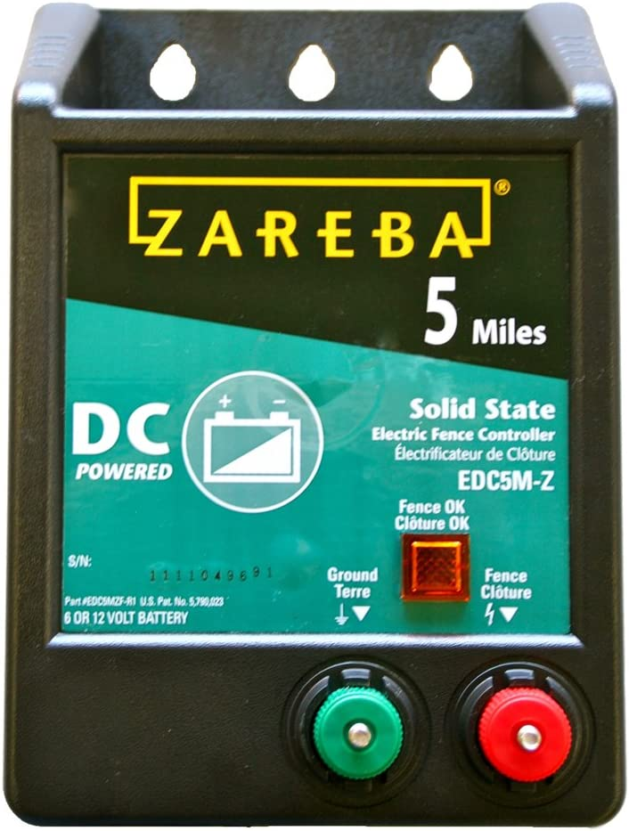 Zareba A5 5 Mile AC Solid State Charger