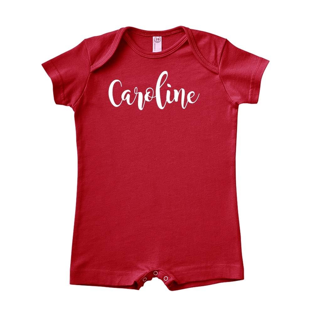 Caroline Personalized Name Baby Romper