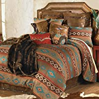 Canyon Shadows Southwestern Bed Set - King - Rustic Bedding Decor