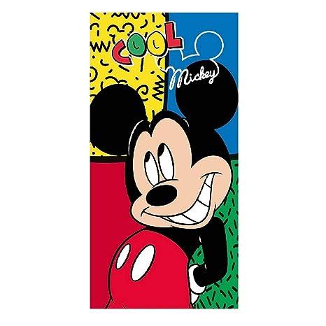 takestop® - Toalla Disney Princesas Star Wars Mickey Mouse para niños y niños, Multiusos