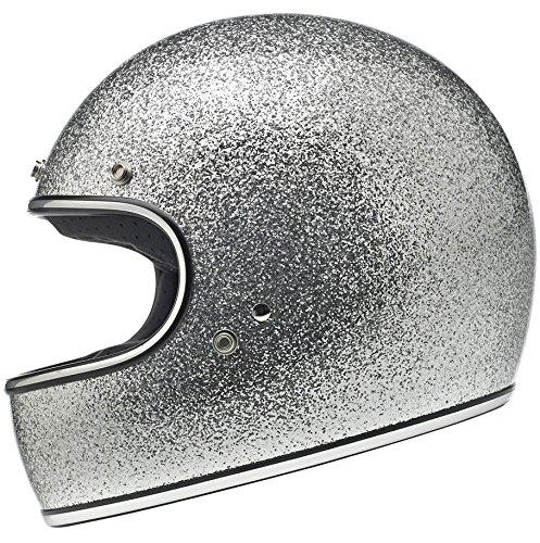 Biltwell Gringo DOT/ECE Helmet - Brite Silver MF - - Urban Dots