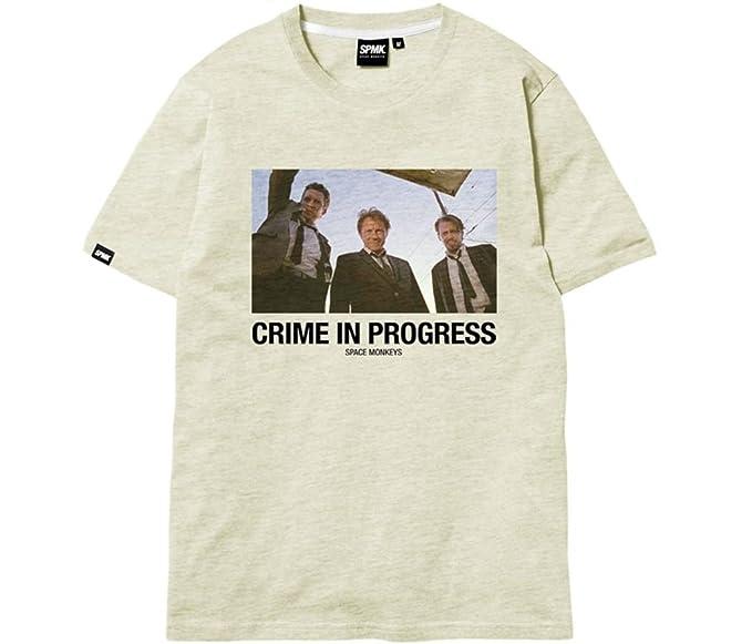 Space Monkeys - Camiseta - para hombre melange off white medium