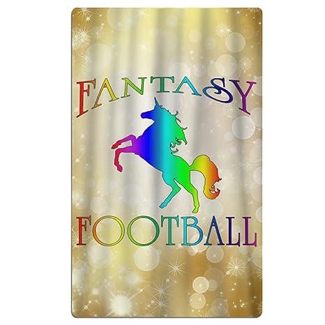 Encantador hermoso y fútbol de fantasía unicornio baño piscina de agua de alta absorbability toallas toallas