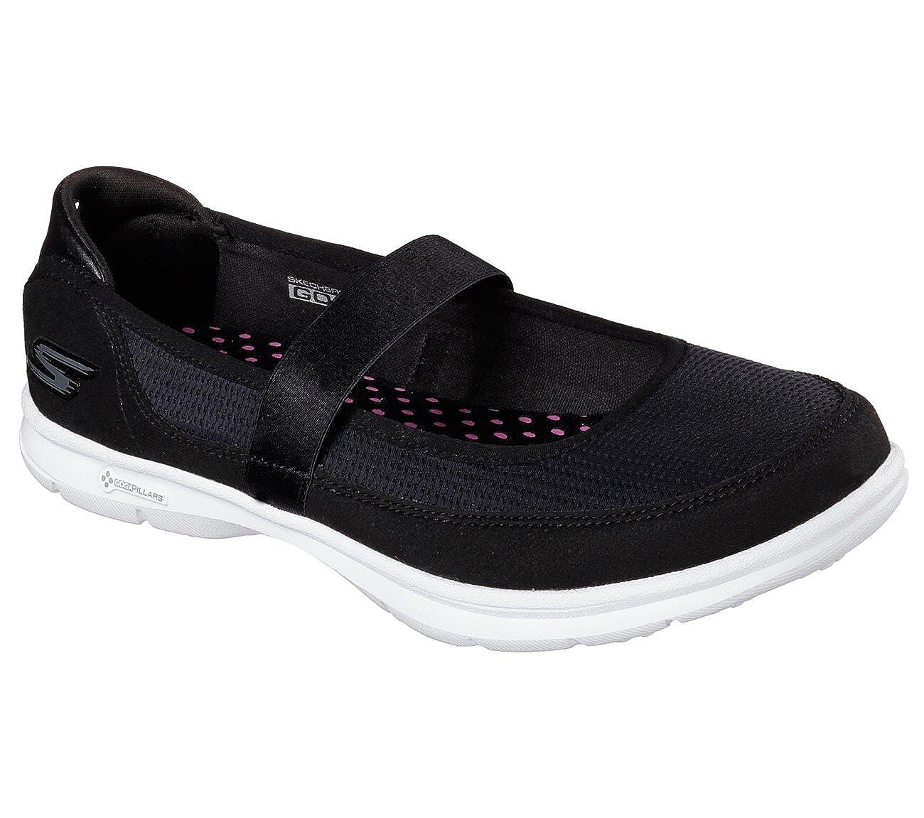 Skechers Go Step Original Schuhe Damen Schwarz 36.5: Amazon nGWFt