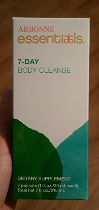Amazon Com Arbonne Essentials 7 Day Body Cleanse Health Personal
