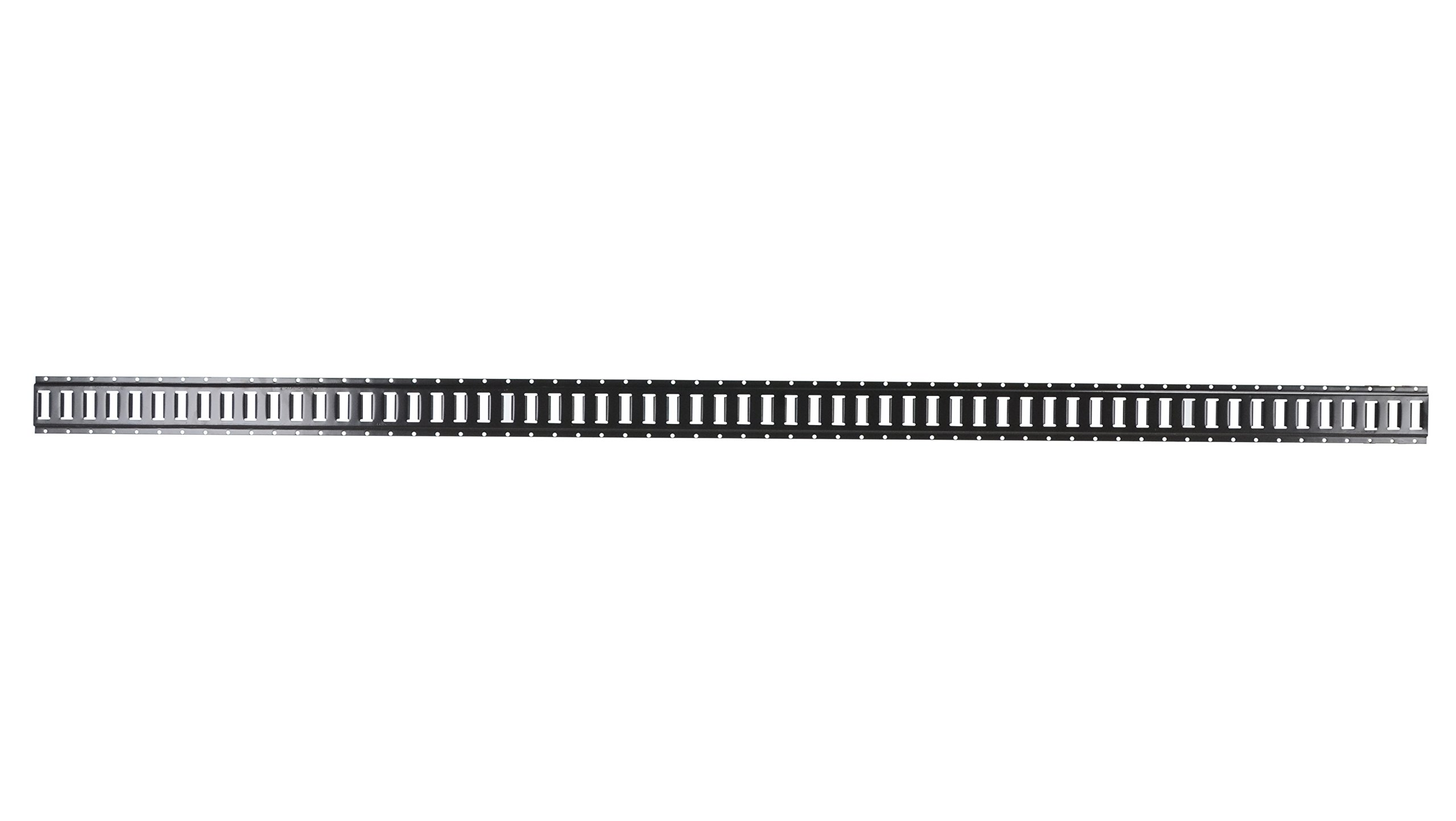Vestil E-TRACK Steel Section of E-Track for Trailers, 10' Length