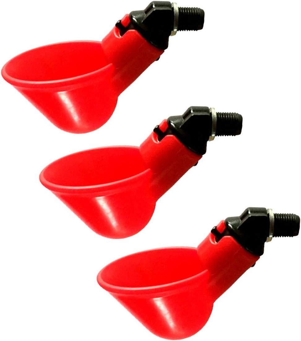 OUNONA Ouona 3-Teiliges Wasser-Netzteil H/ühnerstall automatisch H/ühnerstall