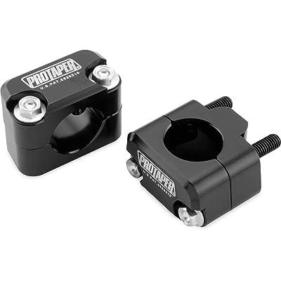 Pro Taper Universal Solid Handlebar Mount Kit - Black: Automotive