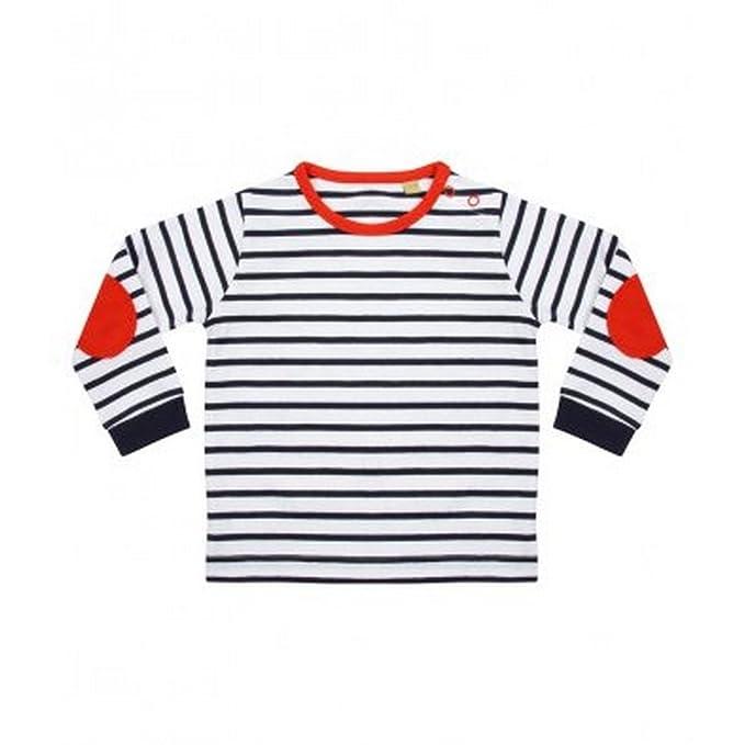 dafa759c75 Larkwood Baby Boys Striped Long Sleeve T-Shirt  Amazon.co.uk  Clothing