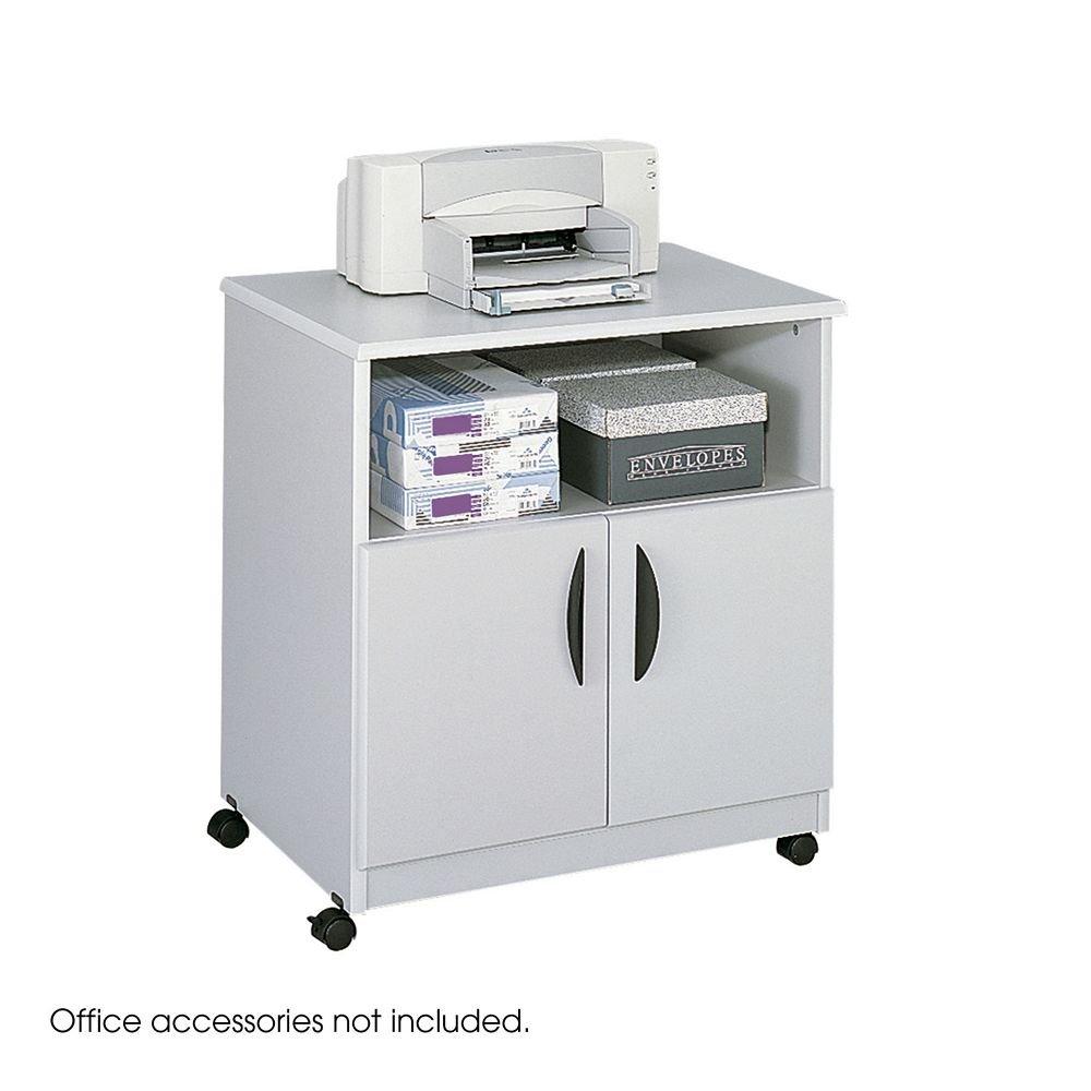 Safco 1850 GRモバイルマシンスタンド – Wood – グレー[ Office Product ]パーツ: 1850 GR B0075XAJ38