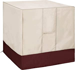 Homydom Premium Central Air Conditioner Covers for Outside Units AC Covers 36x36x39 inches,Water-Resistant, Durable, with Mesh Vents and Elastic Hem Cord