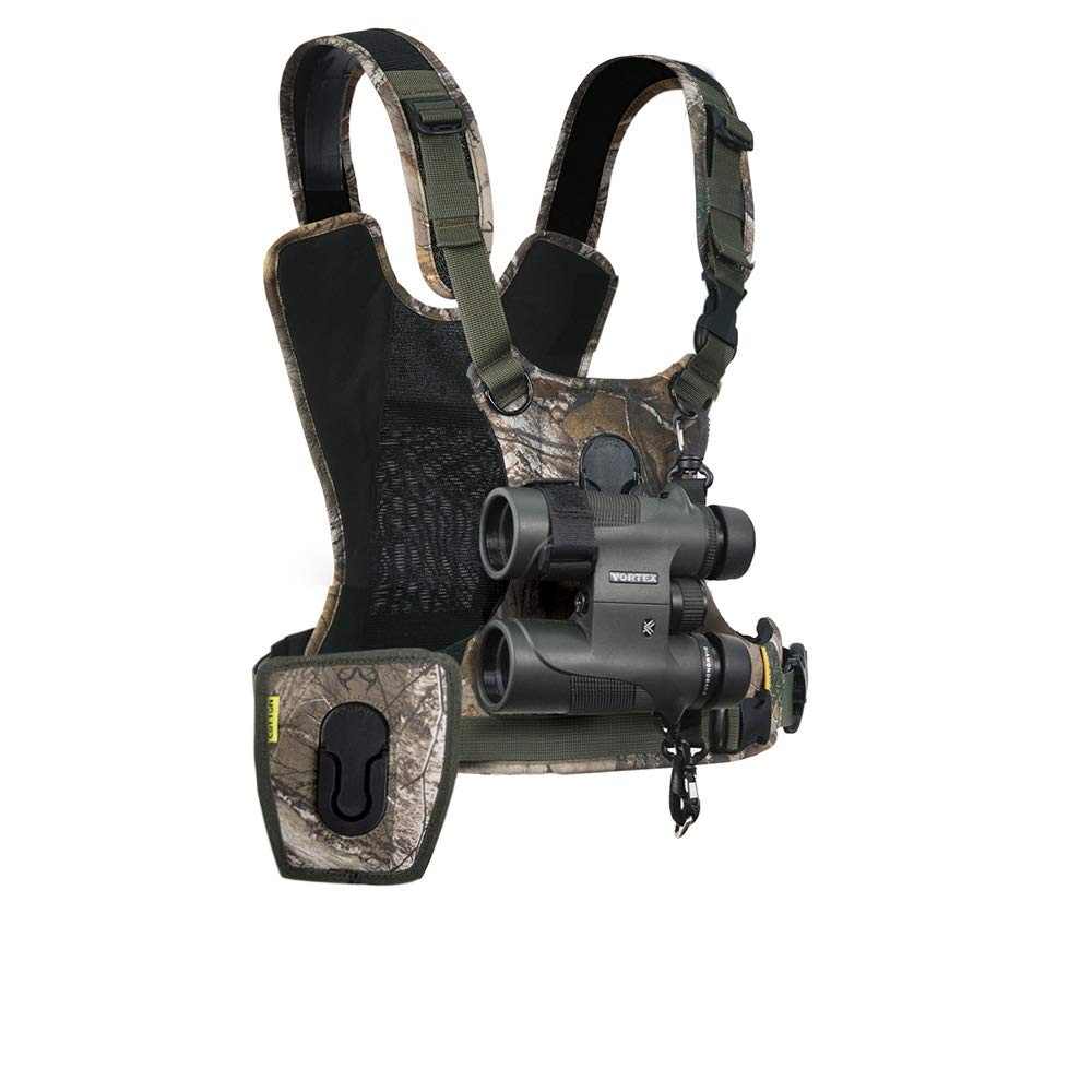 Cotton Carrier CCS G3 Camera and Binocular Harness - Camo