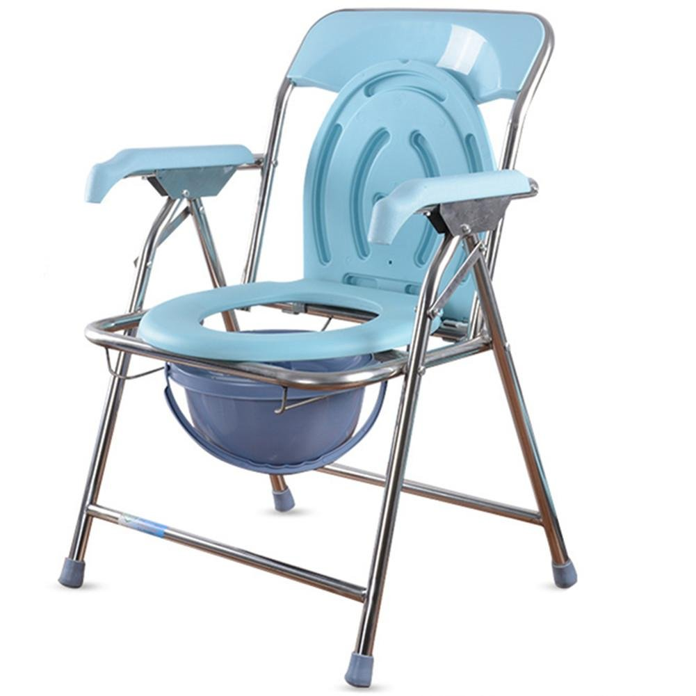 Amazon.com: Old man Toilet chair Bathroom Toilet Seat Elderly ...