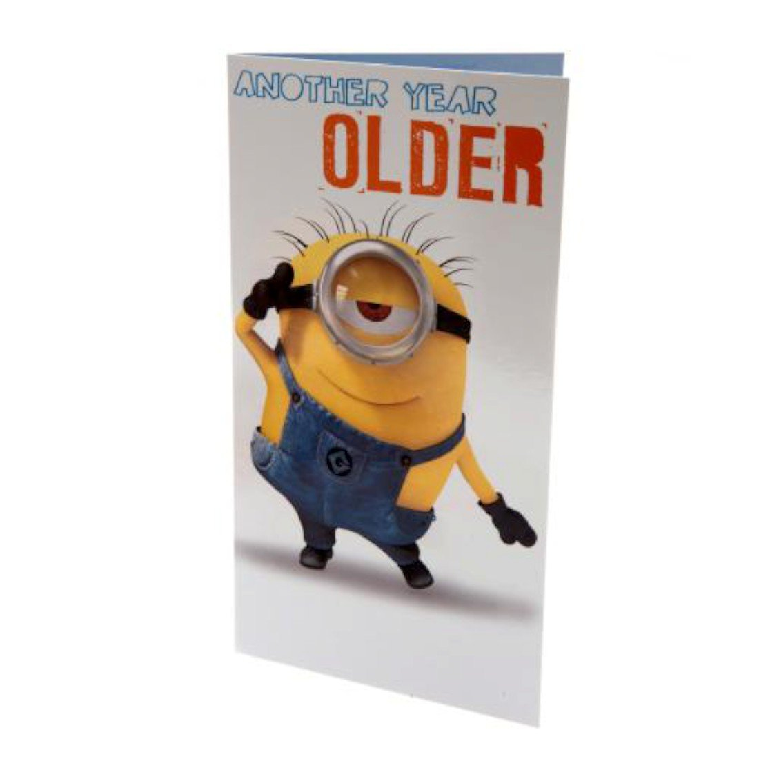 Amazon Despicable Me Minion Another Year Older Birthday Card