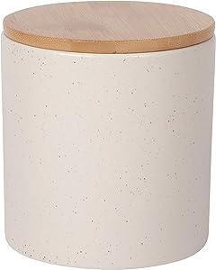 Now Designs Terrain Med Sandstone Stoneware Canister, Medium
