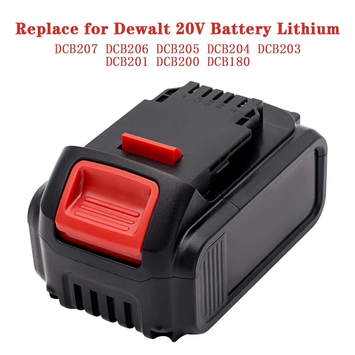 Battery DCB200 DCB182 DCB184 DCB185 for DeWalt DCF885 DCD740 DCD771C2 18V 4.0AH