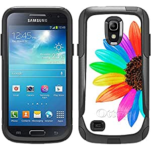 Skin Decal for Otterbox Commuter Samsung Galaxy S4 Mini Case - Colorful Sun Flower