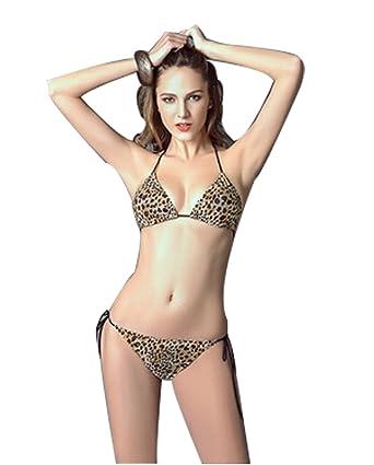 ea140b3de301a The Most Popular 2 PCS Women 'S Bikini Swimwear with Leopard Pattern Design  (S
