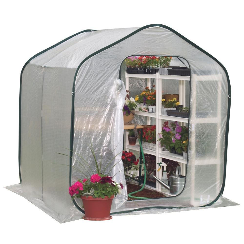 Pop Up Portable Greenhouse : Flower house fhsp springhouse greenhouse amazon