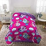 "Franco Kids Bedding Super Soft Comforter, Twin Size 64"" x 86"", My Little Pony"