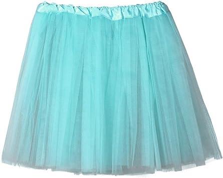 Tefamore Falda de Tul para Mujer Cancan Enagua Faldas ...