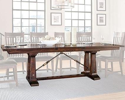 Merveilleux Intercon Hayden Rustic Industrial Dining Table