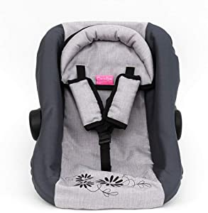 "Paradise Galleries Reborn Baby Doll Accessories - Gender Neutral Doll Car Seat, 12-22"" Dolls"