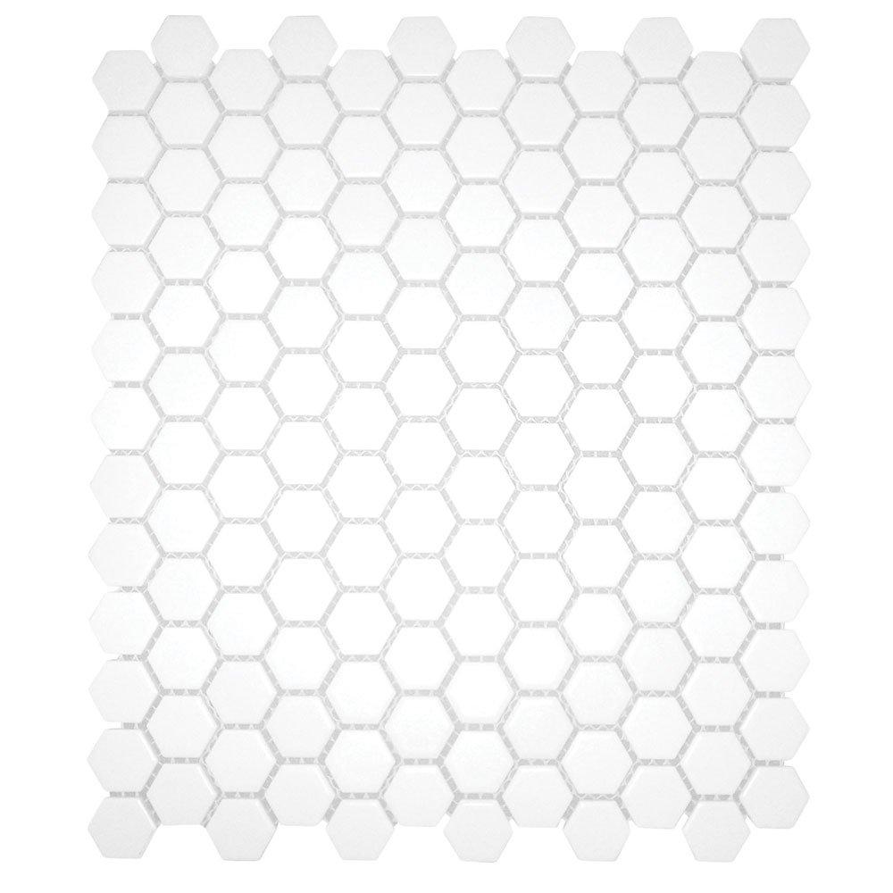 White 12x12 hexagon mosaic 11pcscarton 11 sq ft ceramic white 12x12 hexagon mosaic 11pcscarton 11 sq ft ceramic floor tiles amazon dailygadgetfo Images