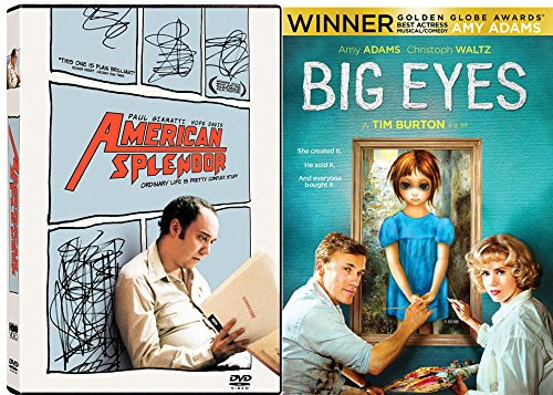 Summer Splendor Chocolate (Big Eyes Tim Burton Art Movie Set & American Splendor DVD Double Feature Combo Edition)