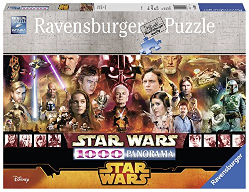 Star Wars Legends, 1000 Piece Panorama Jigsaw Puzzle Made by Ravensburger & Licensed by Disney