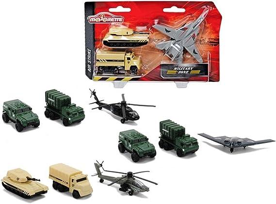 Majorette 213553133 - Majorette Air Strike (4 unidades): Amazon.es: Juguetes y juegos