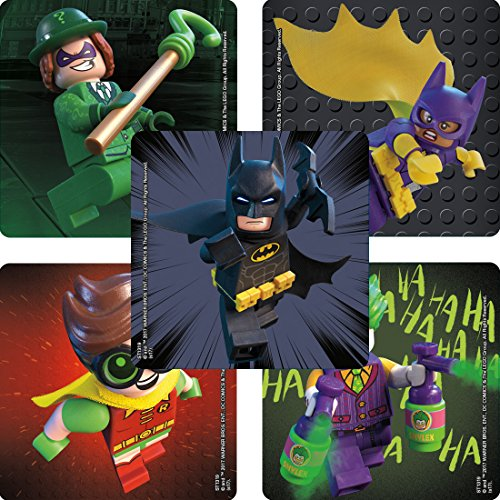 Lego Batman Stickers - Prizes and Giveaways - 100 per Pack