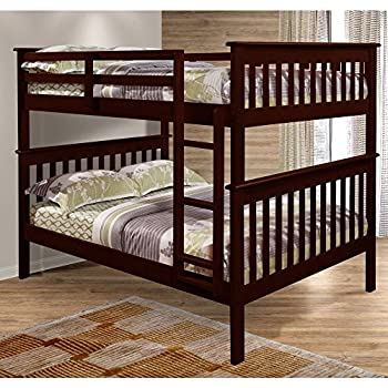 Amazon Com Bunk Bed Full Over Full With Trundle In