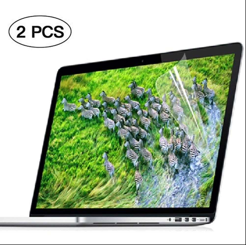 Ultra-Clear High Definition LCD Screen Protector Cover Film Skin for MacBook Air 13-Inch with Touch ID Newest Version Model A1932 2-PCS HD Se7enline 2018 New MacBook Air 13 inch Screen Protector