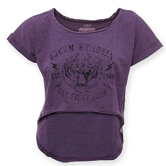 T Queen Kerosin Violet Femme LilasVêtements Shirt USzpMqGV